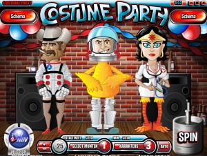 Costume Party, Rival Gaming spel