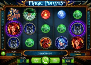 Magic Portals online gokkast