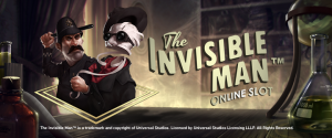 The Invisible Man, NetEnt gokkast